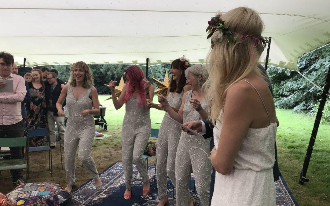 Humanist wedding at Voewood
